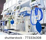 medical equipment at the... | Shutterstock . vector #773336308