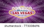 vector transparent sign of las... | Shutterstock .eps vector #773338696