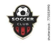 soccer club  sport logo.   Shutterstock . vector #773353990