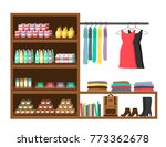 shop market vector illustration ... | Shutterstock .eps vector #773362678