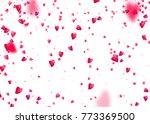 valentines day background.... | Shutterstock .eps vector #773369500