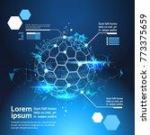 set of infographic elements...   Shutterstock .eps vector #773375659
