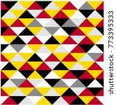 vector seamless patterns ... | Shutterstock .eps vector #773395333