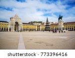 commerce square  praca do...   Shutterstock . vector #773396416