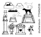 vector set of elements for the...   Shutterstock .eps vector #773406538