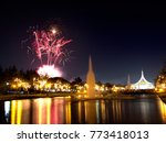 bonfire night celebrations with ... | Shutterstock . vector #773418013
