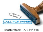 3d illustration of rubber stamp ... | Shutterstock . vector #773444548