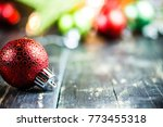 traditional christmas holiday... | Shutterstock . vector #773455318