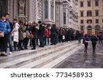 florenze  italy. december 11 ...   Shutterstock . vector #773458933