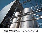 modern  storage technology agro ... | Shutterstock . vector #773469223