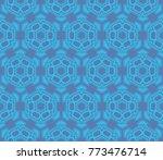 simple modern seamless... | Shutterstock .eps vector #773476714