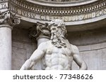 Detail Of The Statue On Neptun...