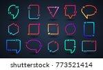 frame for text.website review...   Shutterstock .eps vector #773521414