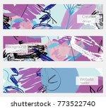 hand drawn creative universal... | Shutterstock .eps vector #773522740