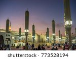 medina  saudi arabia   16th nov ... | Shutterstock . vector #773528194