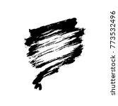 grunge ink pen stroke | Shutterstock .eps vector #773532496