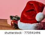 santa claus hat  new year ... | Shutterstock . vector #773541496