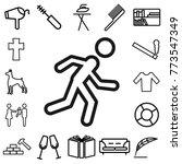sport. lifestyle icon set | Shutterstock .eps vector #773547349