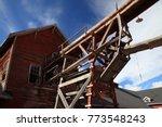 kennecott copper mine  wrangell ... | Shutterstock . vector #773548243