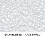 abstract dot pattern  | Shutterstock .eps vector #773559988