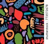 creative pattern. artistic...   Shutterstock .eps vector #773572678
