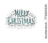 festive inscription  happy new... | Shutterstock .eps vector #773604334
