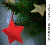 winter christmas glitter...   Shutterstock . vector #773606470