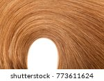 natural colored shiny healthy... | Shutterstock . vector #773611624