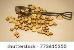 wooden hearts and miniature... | Shutterstock . vector #773615350