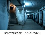 gritty dark chicago city street ... | Shutterstock . vector #773629393