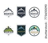 forest  mountain adventure... | Shutterstock .eps vector #773650090