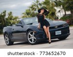 portrait of beautiful sexy...   Shutterstock . vector #773652670