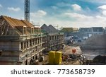 construction site of new homes | Shutterstock . vector #773658739