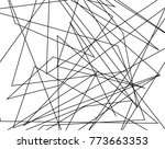 asymmetrical texture with... | Shutterstock .eps vector #773663353