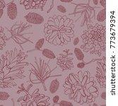 hand drawn vector illustrations.... | Shutterstock .eps vector #773679394