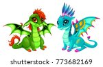 Baby Dragons With Cute Eyes....
