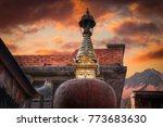 swayambhunath   the buddhist... | Shutterstock . vector #773683630
