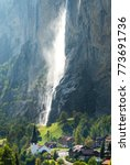 The Lauterbrunnen Village...