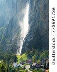 The Lauterbrunnen Village...
