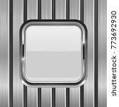 metal vertical planks with... | Shutterstock .eps vector #773692930