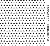 geometric black and white... | Shutterstock .eps vector #773693098