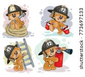 Clipart Illustration Of A Tedd...