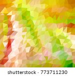 abstract geometric background... | Shutterstock .eps vector #773711230