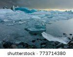 ice lagoon arctic landscape in...   Shutterstock . vector #773714380