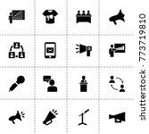 speech icons. vector collection ...