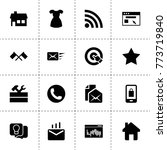 website icons. vector...
