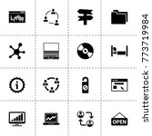 information icons. vector...