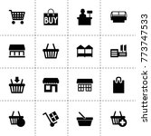 supermarket icons. vector...