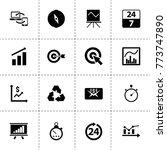 arrow icons. vector collection...