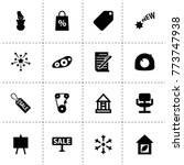 new icons. vector collection... | Shutterstock .eps vector #773747938